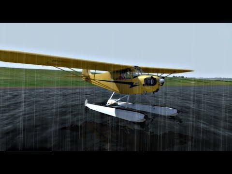 P3DV4ᴴᴰ |NZAP✈A2A Piper Cub Float|9# Tan lentos que apagamos el motor!