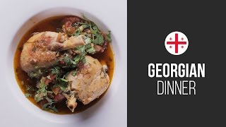 Traditional Chicken Ragout (chakhokhbili) || Around The World: Georgian Dinner || Gastrolab