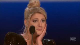 Meghan Trainor Crying Over Zhavia Lost On 34 The Four 34