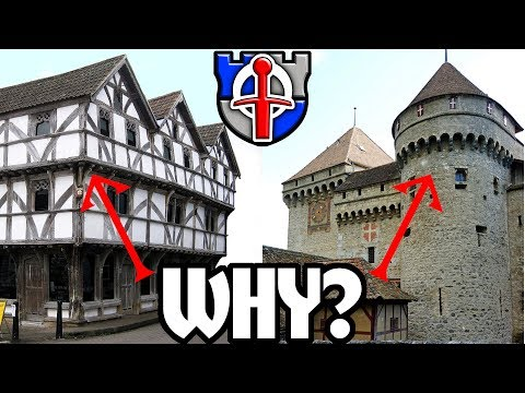 Thumbnail: Why do medieval buildings overhang their lower floors?