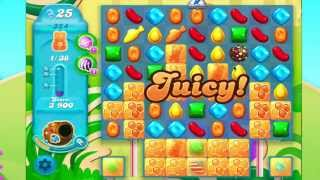 Candy Crush Soda Saga Level 324  No Boosters  2* two stars