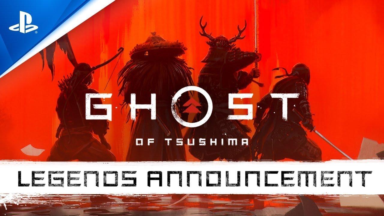 Ghost of Tsushima: Lendas   Trailer de Anúncio   PS4