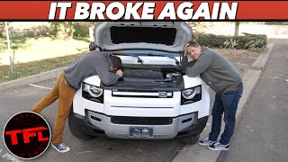 Our Brand New Land Rover Defender Was Fixed! But Then It Broke Again...
