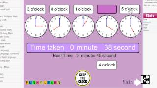 TM002  - Stop the Clock Kido Video How