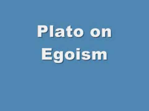 Plato on Egoism
