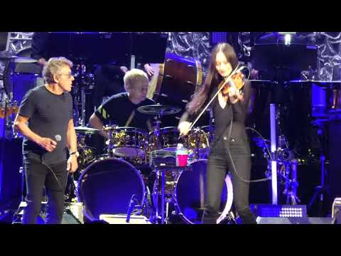 """Baba O'Riley (Roger Gets Kiss from Violinist)"" "" The Who@Jiffy Lube Live Bristow, VA 5/11/19"