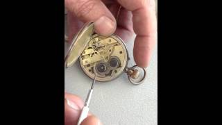 Removing a Watch Movment for Craft or Jewelry Steampunk Design 5 of 6 videos