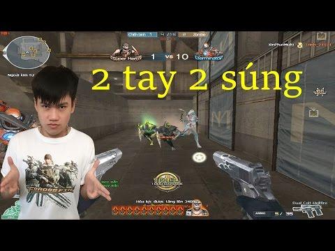 [ Bình Luận CF ] Dual Colt-Hellfire '' Siêu súng lục '' - Tiền Zombie v4