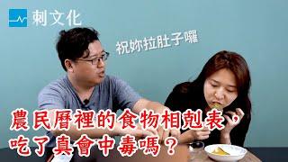 刺文化系列|蝦子加南瓜吃了會烙賽?編輯親身體驗農民曆上的食物相剋圖!