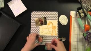 Diy Baby Shadow Box With Handcast Print