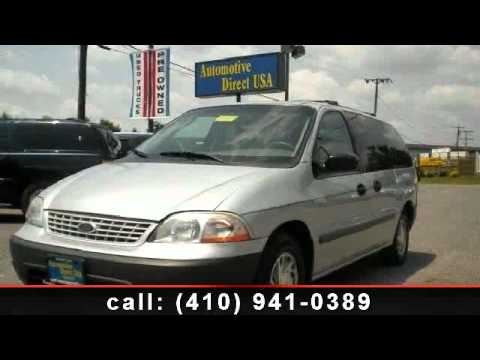 2001 Ford Windstar - Automotive Direct USA - Millersville/Baltimore, MD 21108