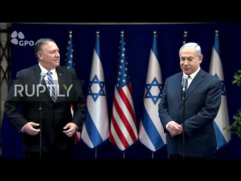 Israel: Pompeo meets with Netanyahu to discuss Iran, Syria