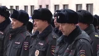Кузбасские полицейские получили новые служебные автомобили