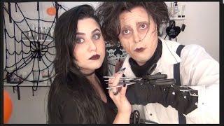 Makeup Transformation - Johnny Depp/Edwards Scissorhands