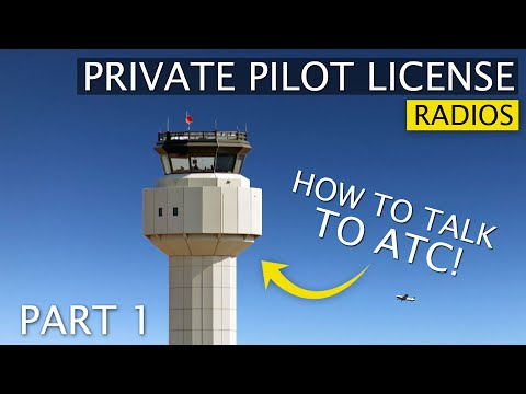 ATC Communications and Radio Basics | Talking to Air Traffic Control 1