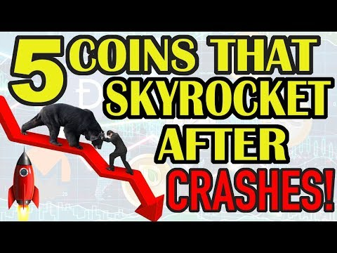 TOP CRYPTO COINS TO INVEST IN A CRYPTO MARKET CRASH! HOW TO GET RICH WHILE MARKET IS CRASHING!