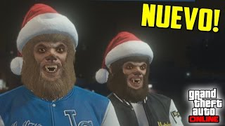 NUEVO MINIJUEGO! BESTIA vs ASESINO - GTA V Online PS4