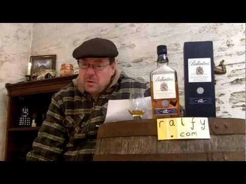 whisky review 247 - Ballantines 12yo Scotch whisky