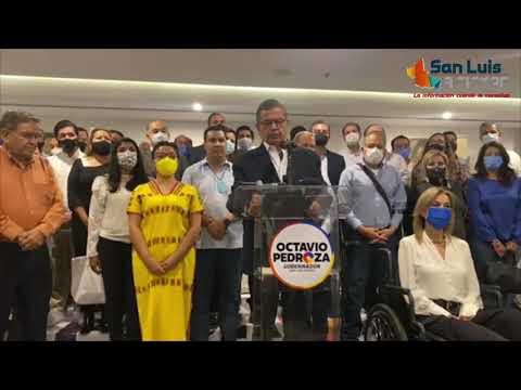 Octavio Pedroza reconoce que no le favorecen las cifras, pero seguirá con impugnaciones