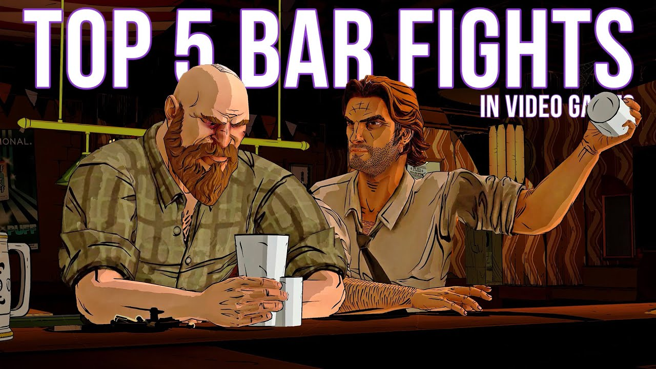 Top 5 Bar Fights in Video Games