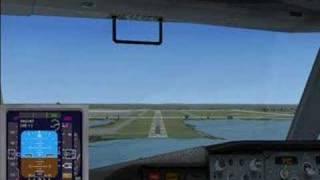FSX 737 Approach with FSCopilot