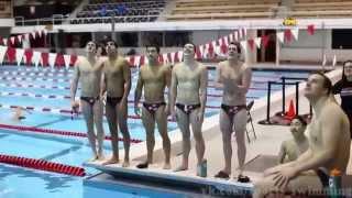 Плавание - это мой спорт. swimming - my fav. sport