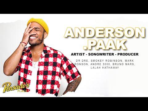 Grammy Award Winning Artist/Songwriter & Producer Anderson .Paak (Part 1) – Pensado's Place #445