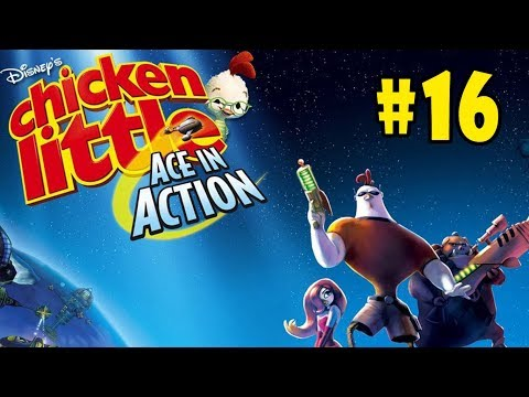 Chicken Little: Ace in Action - Walkthrough - Part 16 - Needle in a Haystack (PC HD) [1080p60FPS] |