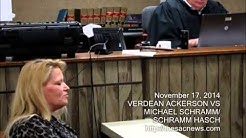 November 17, 2014 Small Claims hearing   SCSC015523