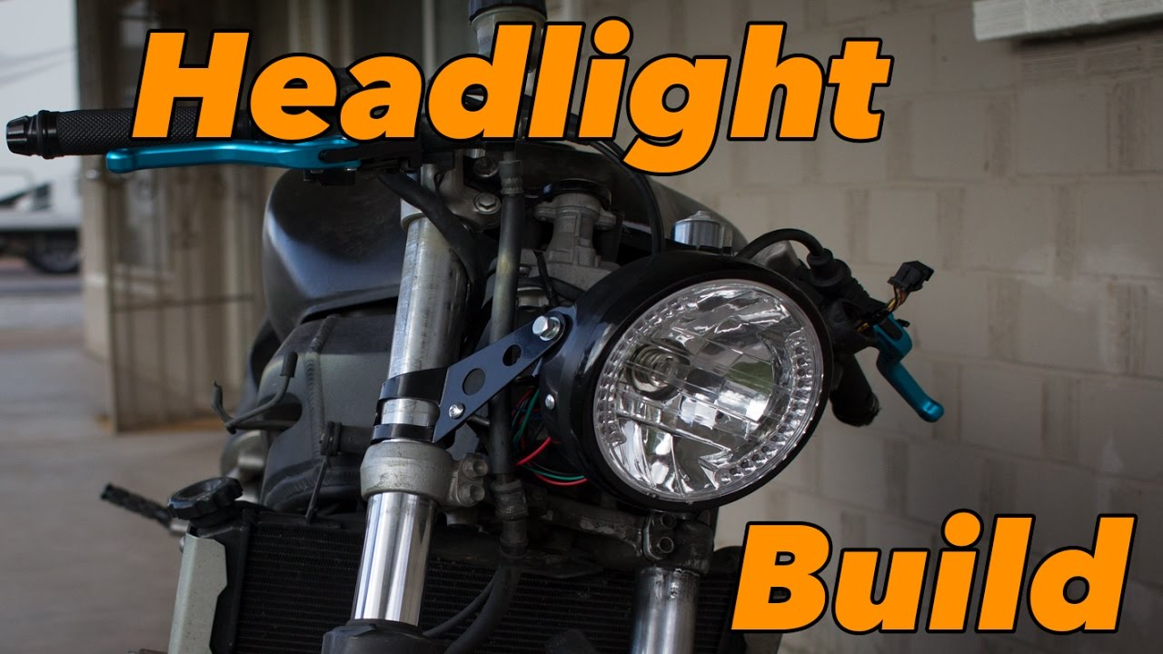 Sv650 Headlight Mod Youtube Tacho Connecting Wiring Diagram For Yamaha R1 04 06