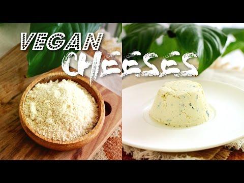 Recettes de fromages vegan : Parmesan & Boursin
