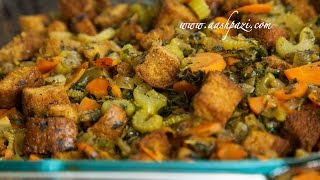 Turkey or Chicken Stuffing (Side) Recipe 4K