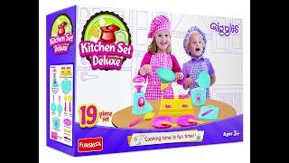 Funskool Giggles Kitchen Set Deluxe Youtube