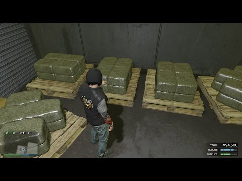 Ep72 MC Weed Farm 1st Product Sell Mission! - Let's Play GTA 5 Online PC 1080p HD