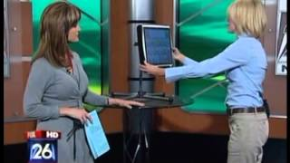 Eyegaze device Tobii C15 with CEye demonstrated on FOX News