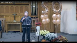 October 25, 2020 Calvary United Church (Message portion)