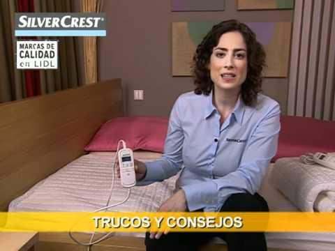 Cubrecolchón Eléctrico   Lidl España   YouTube