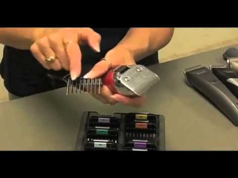 How to use dog clippers code metal guide combs