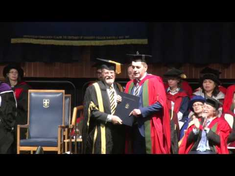 Dr Lee Elliot Major receives honorary degree from University of Sheffield