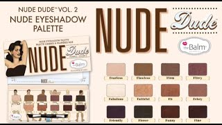 How-To: Nude Dude Eyeshadow Palette