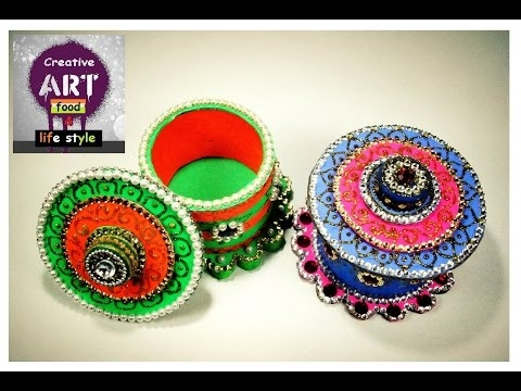 DIY Storage box | waste tape roll | best out of waste |Art with Creativity