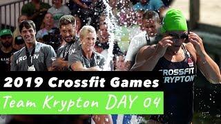 CamilleBaz | 2019 Crossfit Games Team Krypton: Day 4