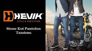 Hevik Stone Motosiklet Kot Pantolonu ( Özen Tv )
