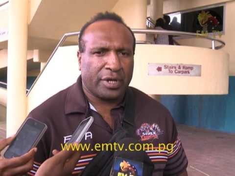 Lae Snax Tigers return from Fiji showing off Melanesian Cup