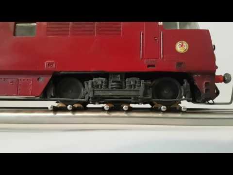 Lima Class 52 'Western Courier' D1062 running test