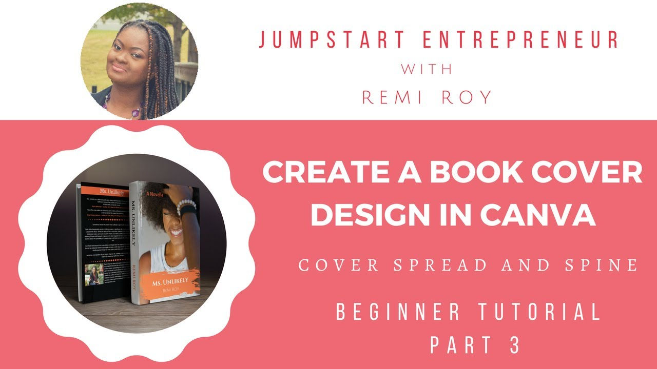 How To Make A Book Cover In Canva ~ How to create a book cover design in canva part youtube