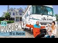 We're MOVING into a Mansion! HOUSE SWAP for 24 HOURS from Tiny Home