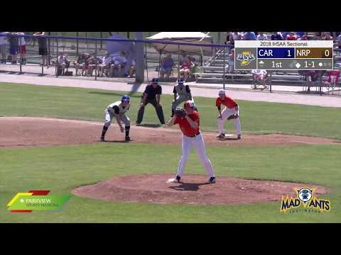 Northrop At Carroll   IHSAA Sectional Baseball