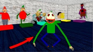 PLAY AS MONSTER Baldi's ROBLOX GAMEPLAY