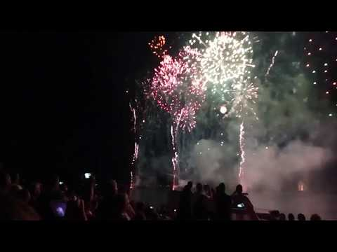 Castell de l'Olla 2018   Polar Praxis Music for fireworks